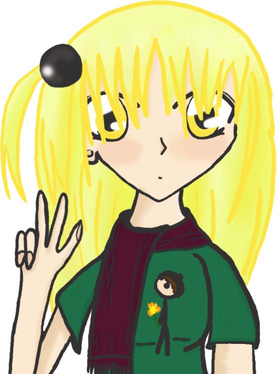 Mano (noch blond)