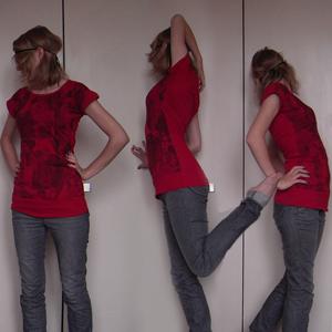 Tag 16: Hose und Haarband von H&M, T-shirt von Mister*Lady