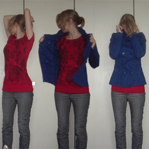 Day 17: Jeans and Jacket by H&M, T-shirt by Mister*Lady