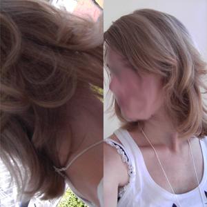 neue Frisur...