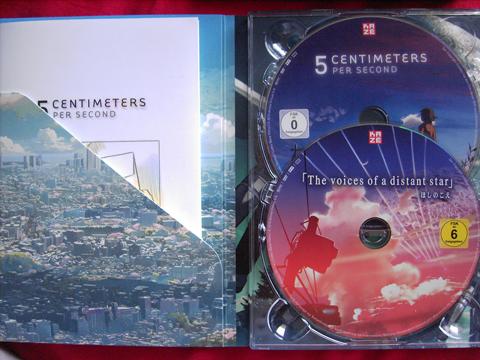 DVD Hülle von Innen