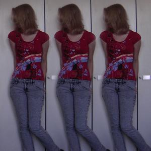 Tag 31: T-shirt Avanti, Jeans H&M