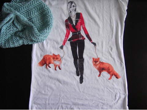 Mütze und T-shirt von H&M