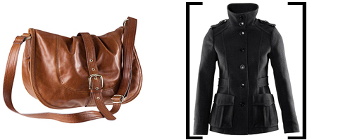 Bag and Jacket (Honestly I'm not sure about both of them)