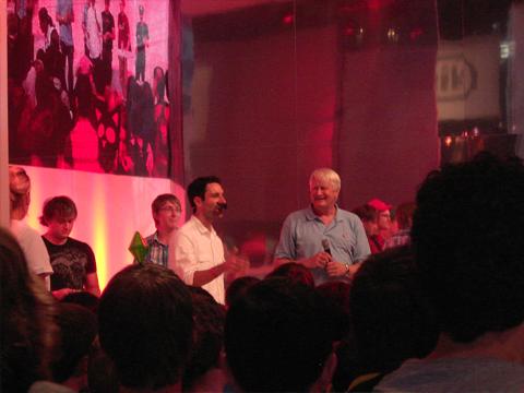 Großes Highlight der GamesCom: Charles Martinet (Synchronstimme von Mario) jeden Tag auf der Nintendobühne
