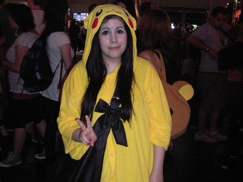 Cosplayer: Pikachu