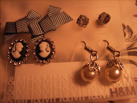 Wundervolle Ohrringe von H&m <3333