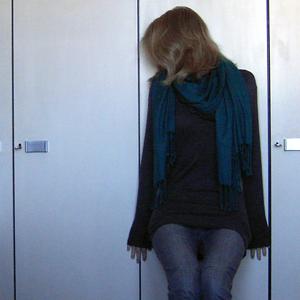 Tag 107: Schal Ostermarkt, Pullover und Jeans H&M