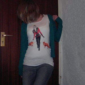Tag 109: Strickjacke, Top, T-shirt und Jeans H&M