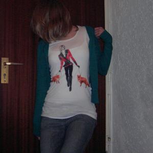 Tag 109: Strickjacke, Top, T-shirt und Jeans H&M