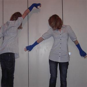 Tag 124: Bluse und Stulpen H&M, Jeans Mister*Lady