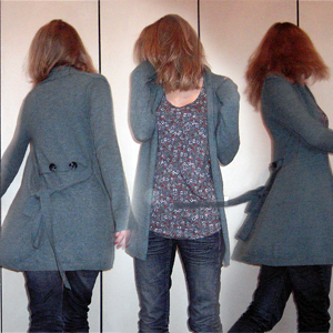 Tag 137: Strickjacke und Top Gina Tricot, Jeans Mister*Lady (Denim)