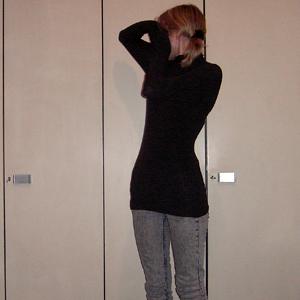 Tag 161: Haargummi H&M kids, Oberteil Avanti, Jeans H&M