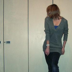 Tag 163: Pullover und Top H&M, Uhr Fossil, Hose unbekannt