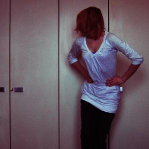 Tag 165 (18.12.2010): Oberteil Vero Moda, Top H&M, Jeans unbekannt