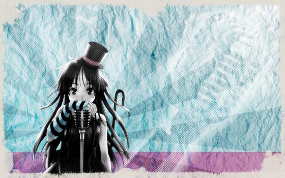 """""""Sing your song in blue and pink!"""" - Wallpaper anklicken um es ganz zu sehen und es herunter zu laden"""