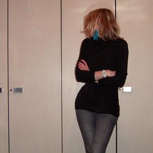 Tag 185: Oberteil Avanti, Jeans Mister*Lady, Ohrring DIY, Armbanduhr Fossil