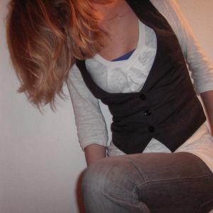Tag 188: Top H&M, Oberteil Vero Moda, Weste Pimkie (neu :3), Jeans Mister*Lady