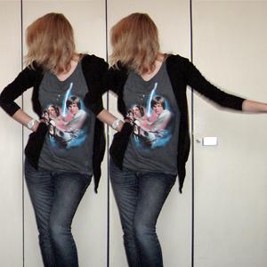 Tag 196 (17.01.2011): Strickjacke Pimkie, T-shirt H&M, Jeans Mister*Lady, Uhr Fossil