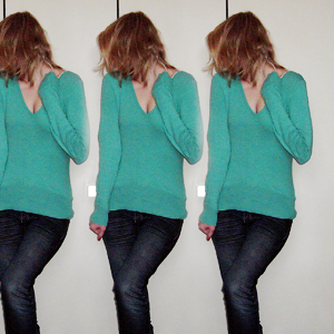 Tag 204: Pulli H&M, Jeans Mister*Lady