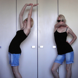 Tag 329 (30.05.2011): Top Primark, Shorts Sama, Sonnenbrille H&M