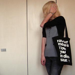 Tag 362: Strickjacke Pimkie, Oberteil H&M, Jeans Mister*Lady, Tasche Cute Monstr