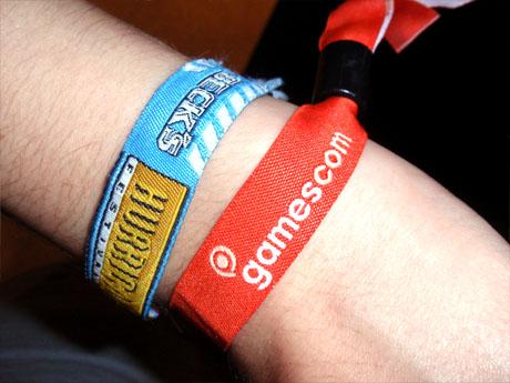 Gamescom Bändchen