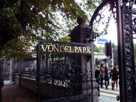 Eingang des Vondelparks