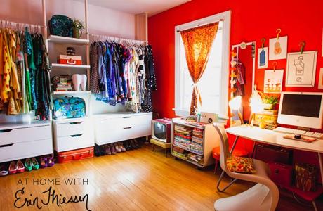 Eine farbenfrohe Wohnung - Bilder von abeautifulmess