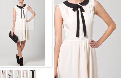 mint&berry Blusenkleid - white (Picture by Zalando.de)