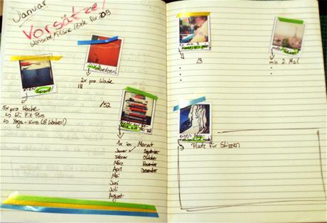 Auf Seite 2 geht es mit meinen Vorsätzen für 2013 weiter (Aufgabe 1)