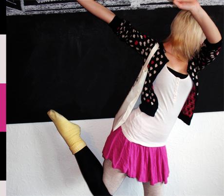 Kleidung H&M, Tasche DIY, Sportsocken Ein-Euro-Laden