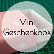 Minigeschenkbox