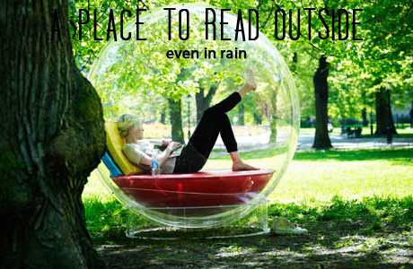 read in the rain