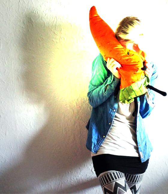Outfit Mittwoch mit Karotte