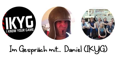 Im Gespräch mit Daniel von I know your Game