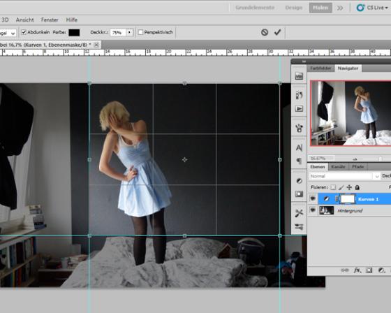 Mit einem Bildbearbeitungsprogramm bearbeiten