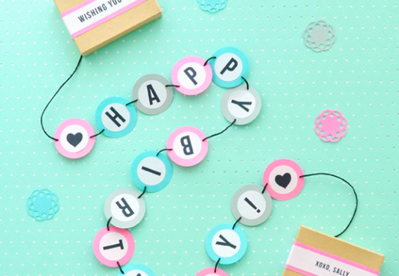 Alternative Geburtstagskarte