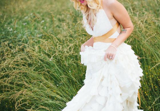 Ein etwas anderes Hochzeitskleid