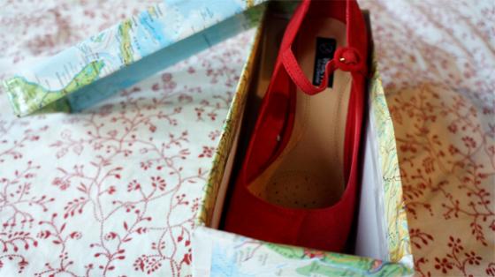 Schuhe und ein DIY Projekt