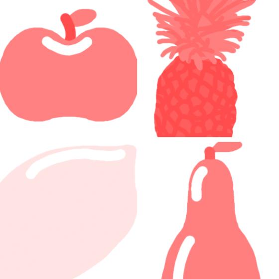 fruchtpinselset