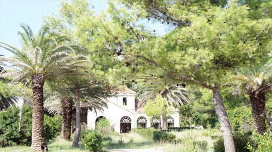 Verlassene Villa in Kupari