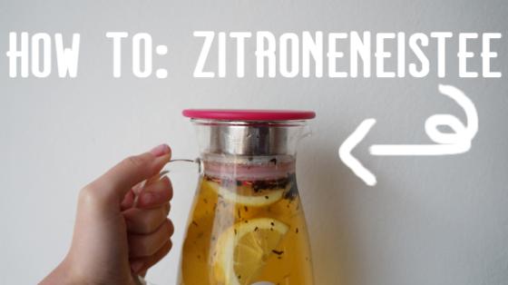 Wie macht man Zitroneneistee selbst?