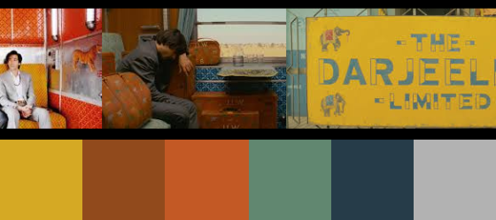 Die Farben von Darjeeling Limited