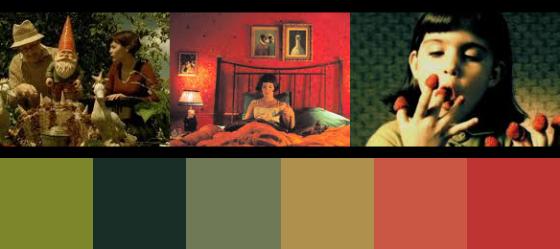 Die Farben der fabelhaften Welt der Amélie