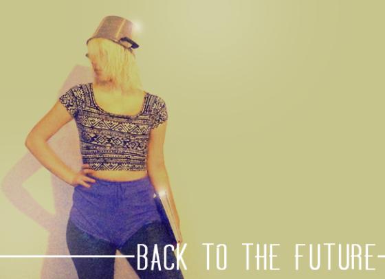Zurück in die Zukunft Outfit