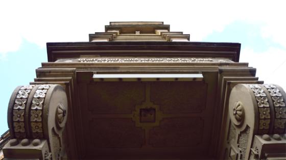 Gebäudedetails von kölner Altbauten