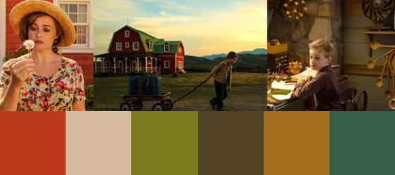 Die Farben von Die Karte meiner Träume