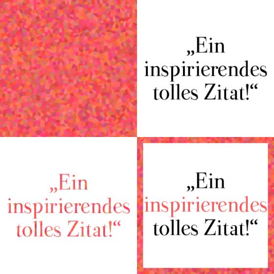 Texturen und Text