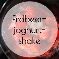 Erdbeerjoghurtshake